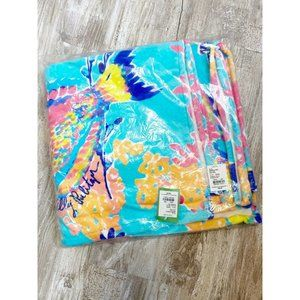 Lilly Pulitzer Beach Towel Shorely Blue Sandstorm